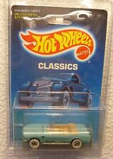 "1989 HOT WHEELS ""CLASSICS"" '65 MUSTANG CONVERTIBLE - In Protector!"
