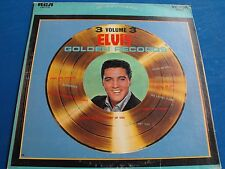"Elvis Presley ""Elvis' Golden Records Volume 3  LSP-2765"