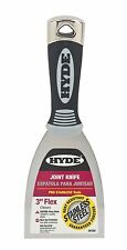 """Hyde Stainless Steel 3"""" Flexible Joint Putty Knife 06358 Maxx Grip Tool"""