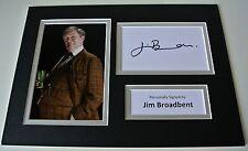 Jim Broadbent Signed Autograph A4 photo display Harry Potter Professor & COA