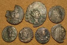 LOT OF ROMAN COINS (7 PIECES) MONEDAS ROMANAS