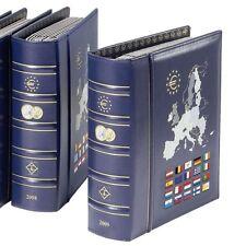 VISTA album euros millésimes 2008, avec étui de protection, bleu - Réf  341032