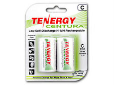 1 Card: 2 pcs Centura C LSD NiMH Rechargeable Batteries