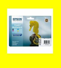 original Multipack T0487 EPSON STYLET PHOTO RX500 RX600 RX620 RX640
