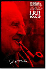 JRR TOLKIEN SIGNED ART PHOTO PRINT 2 AUTOGRAPH POSTER GIFT J.R.R. QUOTE