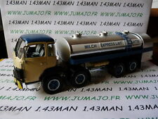 CAMIONS 1/43 altaya IXO Berna D330 Citerne alimentaire LAIT (Milch Express)