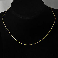 korean jewellery long Gold Filled silver plated womens Snake necklace chain