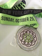 NYC 10k Roosevelt Island 10/25/15 Finishers Race Medal Road To Disney Rare