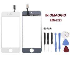 VETRO Originale + touchscren touch screen per iPhone 5S BIANCO attrezzi omaggio