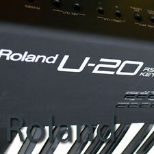 ROLAND U-20 HUGE Original Factory & New Created Sound Library & Editors on CD