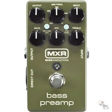 MXR M81 Bass Preamp Bass Effects Pedal w/ Direct Out D.I.