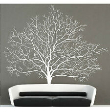 White Birch Tree Wall Decal Stickers Branch Forest  Modern Home Decor Tree Mural
