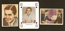 Tyrone Power Fab Movie Card Collection