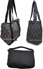 Sachi Insulated Tote Bag Set Keeps Food Cold or Hot NEW Black White Graphic