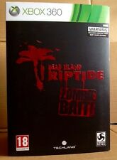 EXCLUSIVE DEAD ISLAND RIPTIDE ZOMBIE BAIT COLLECTORS EDITION XBOX 360 UK PAL NEW