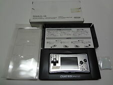 Original Faceplate for Game Boy Micro SuperRobot Taisen + Box Nintendo Japan NEW