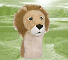 Lion by Daphne's Large Novelty Golf Club Driver 1 Wood Headcover 460cc Head