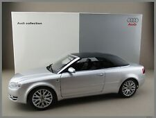AUDI a4 CABRIOLET * Luce in Argento * NOREV * scala 1:18 * OVP * NUOVO