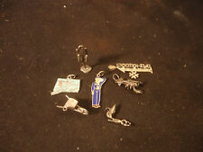 Sterling Silver Charm Jewelry LOT #1 Godmother Connecticut Lobster Boy Scout