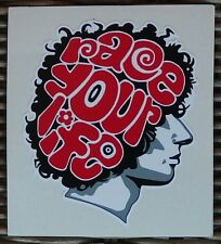 ADESIVO STICKER  DECAL MARCO SIMONCELLI RACE YOUR LIFE 58 MOTO GP