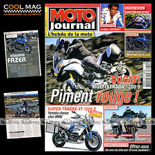 MOTO JOURNAL N°1895 SIDE-CAR TERROT 500, DUCATI MULTISTRADA 1200 S TOURING 2010