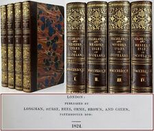 MACCULLOCH*1824*HIGHLANDS/WESTERN ISLES/HEBRIDES-SCOTTISH HISTORY/ANTIQUITIES-VG