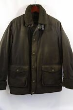 Barbour 'Catterick' Classic Waxed Cotton Jacket Size L  $399