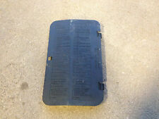 Vw B4 Passat - Fuse Panel Cover Plate - 1996-1997