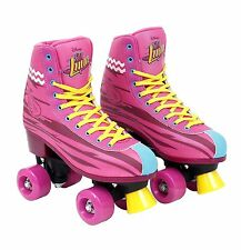 Soy Luna Disney Roller Skates Training Original TV Series Size 34-35/3/23 Yellow