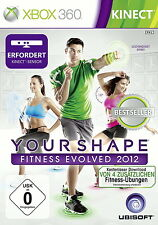 Your Shape: Fitness Evolved 2012 für Xbox 360 *TOP* (mit OVP) EU Import