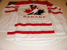 2016 World Juniors Championship Team Canada White Jersey Player WJC IIHF XXXL