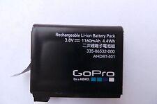 Genuine Original AHDBT-401 battery 1160mAh For Gopro Hero 4 HD Black Silver Used