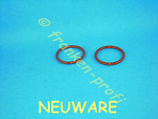 Brühkolbem 2 O-Ringe .NEU Krups XP7180 XP7200 XP7240 EA8000 EA8200 EA69x0 EA83