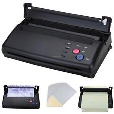 A5-A4 Tattoo Transfer Copier Printer Machine Thermal Stencil Maker+ Bonus Papers