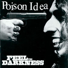 FREE US SH (int'l sh=$0-$3) NEW CD Poison Idea: Feel The Darkness