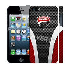 CUSTODIA COVER PER APPLE IPHONE 5 5S LIMITED EDITION STAMPA PIENA TIPO DUCATI
