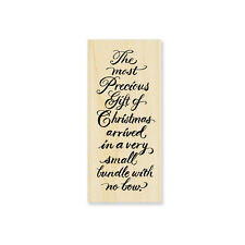 STAMPENDOUS RUBBER STAMPS PRECIOUS BUNDLE STAMP