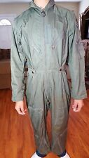Vtg 50s K-2B Very Light Summer USAF Flight Suit W Insignia Small Short