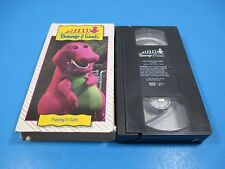 Barney VHS, Barney & Friends Playing It Safe Buckle Up My Seatbelt Traffic Song
