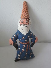 "VINTAGE ICE CREAM CONE ADVERTISING WIZARD CLOTH DOLL TOY"" THE FOREMAN OF FREEZE"""