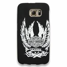 Harley-Davidson Winged Bar & Shield Cell Phone Case Cover (Samsung Galaxy S6)