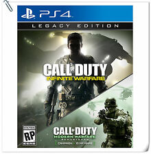 2 IN 1 PS4 Call of Duty Infinite Warfare Legacy Games Activision Action Preorder