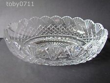 "Waterford Crystal MASTER Cutter Ciotola Ovale 11"" (ref502)"