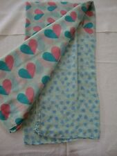 Infinity Scarf Scarves Wrap Shawl Loop Cowl Heart Green Pink New Circle Love