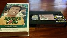 BRIAN'S SONG - JAMES CAAN, BILLY DEE WILLIAMS - BASED ON A TRUE STORY- VHS VIDEO