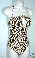 TRINA TURK Swimsuit Size S Metal Accent One-Piece Maillot NWT $139