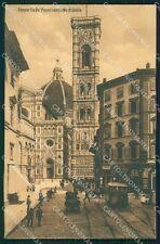 Firenze Città Tram cartolina XB5179