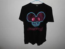 Deadmau5 Shirt Adult Medium M Med Red Eye Black