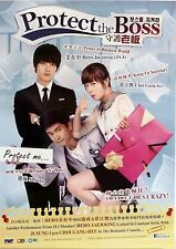 PROTECT THE BOSS KOREAN COMEDY POSTER-Choi Kang-hee,Ji Sung,Hero Jaejoong (JYJ)