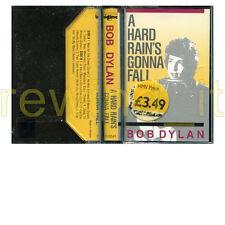 """BOB DYLAN """"A HARD RAIN'S GONNA FALL"""" RARE TAPE 1988 - SEALED"""